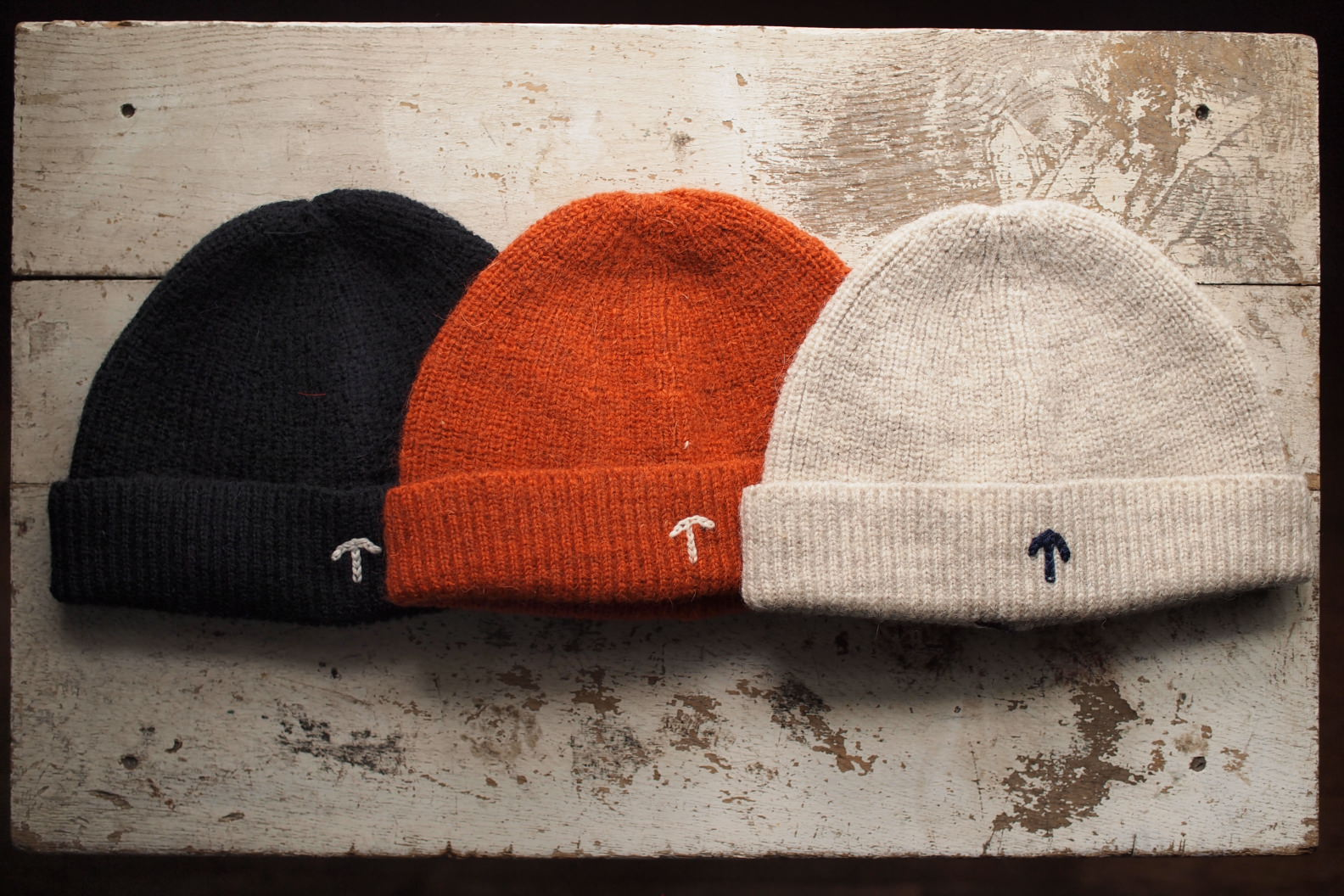 c85e9558324 Nigal Cabourn AUTHNTIC LINEのBEANIE